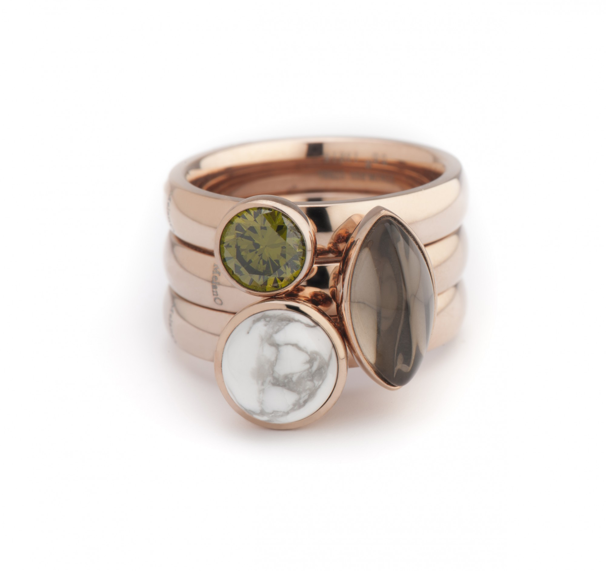 Rings With Rose Design